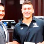 Vela Family donates scholarship to local High School Football standout
